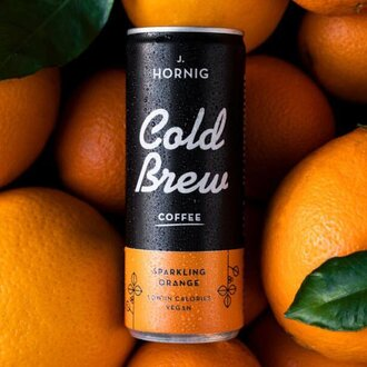 Cold Brew 100% Arabica Sparkling Orange 250мл кен